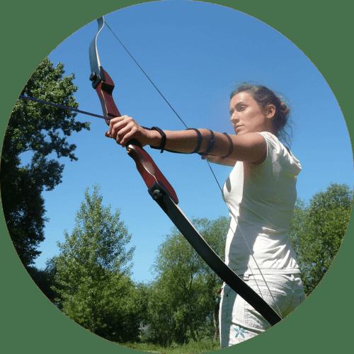 Bogenschützin