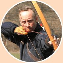 Bogenschütze Lars Christensen