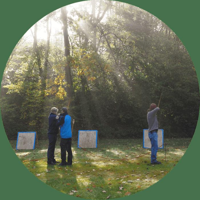 Abenteuer Lernen unsere Methoden: Intuitives Bogenschießen, Erlebnispädagogik, Initiatische, Prozeßbegleitung, NLP
