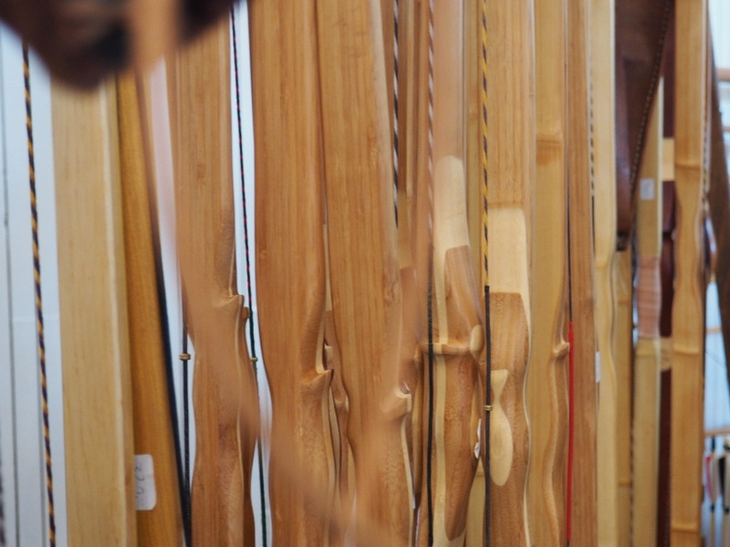 Bogenbauer Michael Bombardier auf der Paderbow