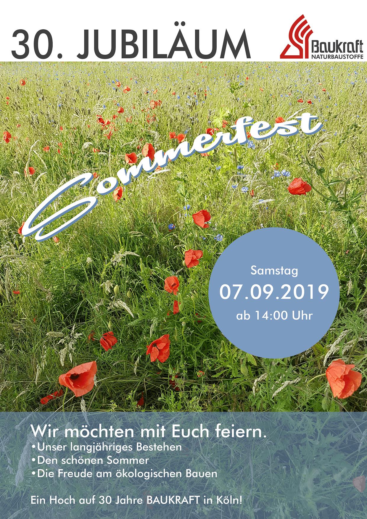 Sommerfest am 7.9.2019
