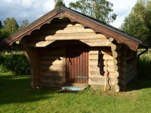 Bogenhütte in Schweden