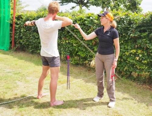 Fortbildung Bogenschießen mit Ulrike Koini in Sachen Technik